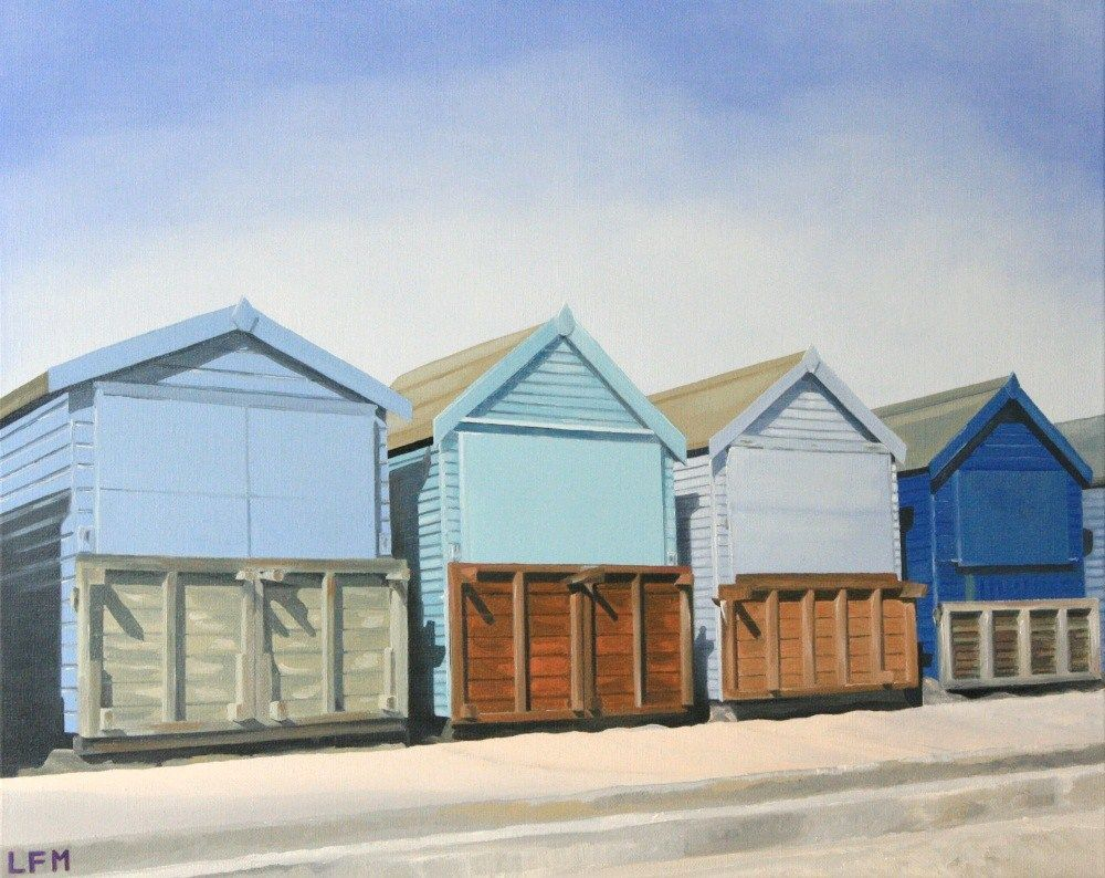 Beach Huts on the Promenade