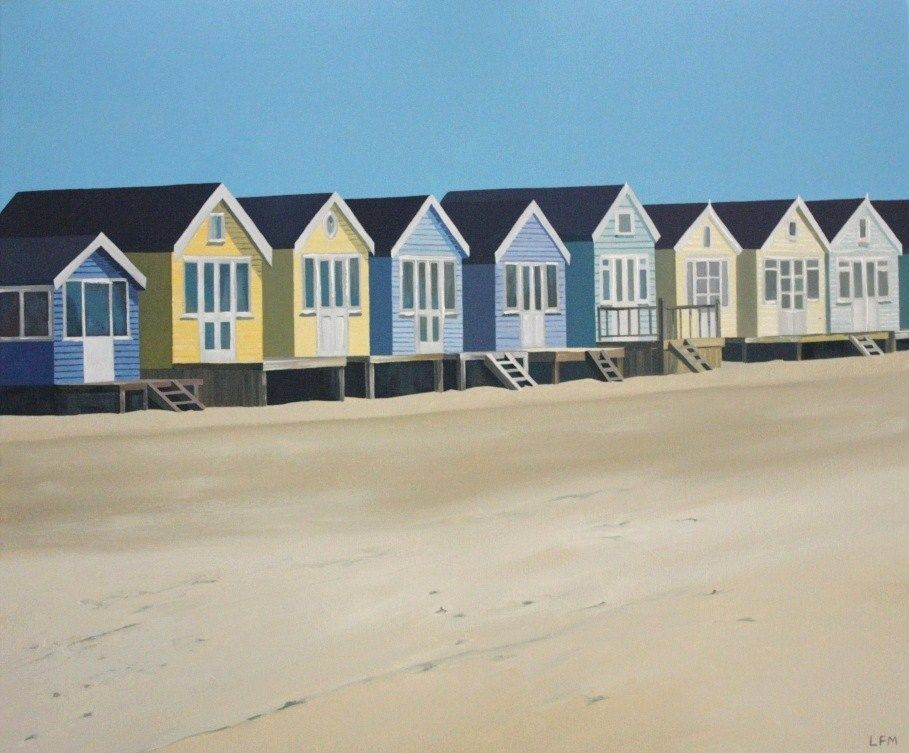 Beach Huts by the Seaside