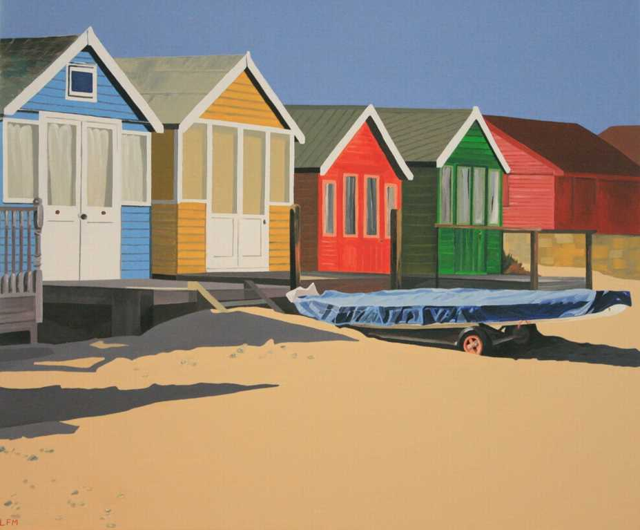 Four Beach Huts